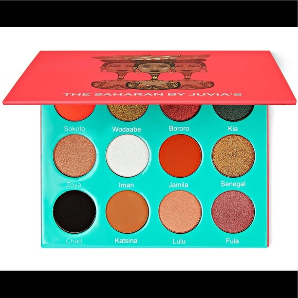Juvia's Place Other - Juvia's Place Saharan Eyeshadow Palette